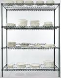 棚の工場からのNSFの承認の台所皿ワイヤーラックレストランの棚付け