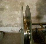 높은 장력 직류 전기를 통한 타원형 철사