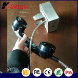 3.5mmの装甲コードの受話器が付いている電話受話器の電話受信機