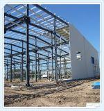 Edificio de acero prefabricado del almacén de la alta calidad de Q235 Q345