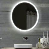 Espelho iluminado elétrico do banheiro de Fogless da função esperta do diodo emissor de luz do hotel