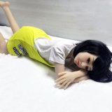[128كم] مسطّحة [شستد] سليكوون جنس دمية لأنّ رجال استمناء