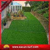 Künstliches Gras legt Rasen für Fußball-Stadion und natürliches Gras für Garten-Gras-Straßenbetoniermaschinen mit Teppich aus