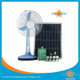 Système mobile solaire d'énergie solaire de nécessaire d'énergie solaire de ventilateur de DC12V