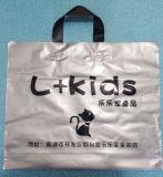 La mano ha rinforzato l'immaginazione del commercio all'ingrosso tagliata plastica del sacchetto di acquisto della borsa