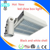 New Design 130lm / W Multifuncional Outdoor LED Shoe Box Light com chips Philip3030