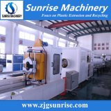 Extrusora gêmea cónica da tubulação do PVC do parafuso para a linha de produção da tubulação do PVC
