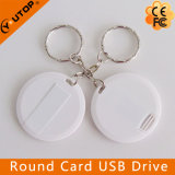 USB sottile rotondo Pendrive della scheda come regalo di promozione (YT-3108)