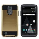 Caja delgada del teléfono de la armadura del impacto rugoso para LG Aristo Ms210
