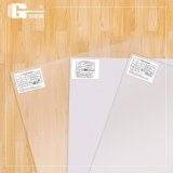 Material plástico transparente de la tarjeta de la identificación del PVC del espacio en blanco del asunto del claro de encargo de la impresión