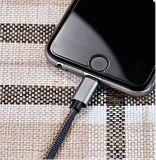 voor het Laden van de Gegevens van het Denim van de Telefoon type-C van iPhone Androïde Mobiele Universele Kabel
