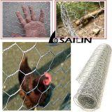 電流を通された家禽の網の金網の網