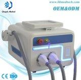 Máquina del cuidado de piel del retiro del vaso sanguíneo optan/Shr/IPL de las manetas del doble