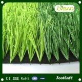 Hierba artificial del sintético del balompié del césped