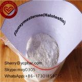Do realçador masculino oral do sexo de Oratestin 76-43-7 pó esteróide de Halotestin