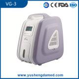 Concentrateur portatif Vg-3 de l'oxygène d'équipement médical de machine bon marché d'O2