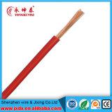 Fil électrique de conducteur d'en cuivre d'isolation de PVC