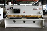 Máquina de estaca da máquina de corte da guilhotina hidráulica numérica/placa de aço