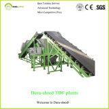 Dura-Destrozar la planta de reciclaje tradicional del neumático para las virutas de Tdf