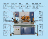 [إيرونووركر] هيدروليّة, عمليّة قطع, مصنوع حديديّ, [بونش مشن], عالميّة يثقب & يقصّ آلة