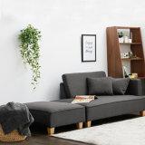 2017 Mobili nuovi divani in tessuto per soggiorno con ottomana (K79)