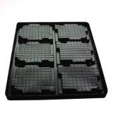Kundenspezifisches PS-elektronische Bauelement-bereiftes Blasen-Tellersegment-Plastikfutter