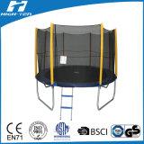 Cheap Trampoline redondo com redes de segurança