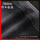 Colore nero che lavora a maglia il tessuto del denim del piquè del tessuto 320GSM del Jean