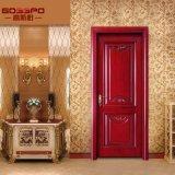 ماهوغانيّ ينحت تصميم باب رئيسيّة داخليّ خشبيّ ([غسب2-058])
