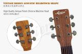 A polegada OM do tipo 40 de Aiersi denomina a guitarra acústica