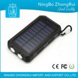 Banco universal 8000mAh 1000mAh da potência solar do melhor Portable do carregador do telefone móvel da venda