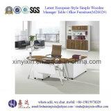 Aluminium Bureau Portes en verre Armoire de rangement MFC Furniture Bureau de la Chine (C30 n)