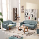 Modernes europäisches Freizeit-Wohnzimmer-Gewebe-Sofa