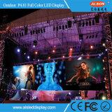 Farbenreiches Miet-Bildschirmanzeige-Panel LED-P4.81 für das Bekanntmachen