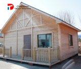 低価格の緑のプレハブの移動式別荘の家
