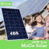 Poli comitato solare di alta qualità 100W con la garanzia lunga