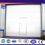 Двери high-density панели PU пены электрические секционные