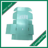 Boîte de présentation pour le logo du produit imprimé sur la boîte en une seule couleur