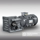 Motor de Engrenagem de engrenagem cônica cônica Série K