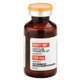 Doxycyline Hyclateの抗生の薬100mg/5mlのビタミンCの凍結乾燥の粉