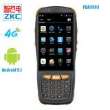 4G varredor Handheld do código de barras do Android 5.1 com o varredor 1d/2D