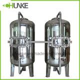 Edelstahl-Kohlenstoff/Sand-Wasser-Filtergehäuse für RO-Wasserbehandlung