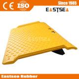 Gelbe StahlReforced Fahrstraße-bewegliche Kandare-Rollstuhl-Rampe