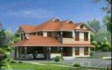 Casa prefabricada de acero ligera modular portable prefabricada del chalet