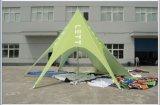 Tente faite sur commande d'étoile de Red Bull de logo de tente en forme d'étoile estampée par qualité pour l'étalage
