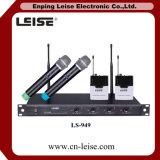 専門家Ls949 4チャンネルUHFの無線電信のマイクロフォン