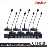 Jusbe FL-8328 8-verbinding VHF de Draadloze Professionele Gooseneck van de Microfoon van het Systeem van de Conferentie 12V Dynamische Microfoon van de Vergadering
