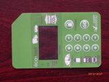 Interruttore di membrana verde chiaro del pulsante dell'animale domestico LED/interruttori meccanici della tastiera