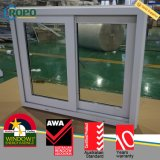 UPVC vitrificado dobro padrão australiano Windows deslizante