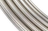 Manguito trenzado inoxidable del metal flexible del alambre de acero